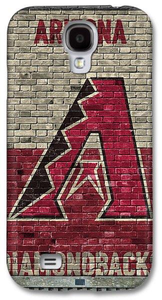 Arizona Diamondbacks Brick Wall Galaxy S4 Case by Joe Hamilton