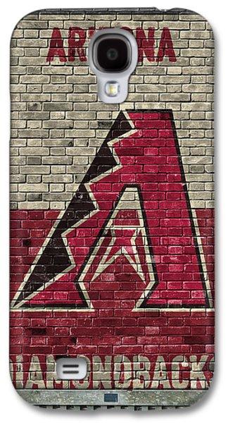 Arizona Diamondbacks Brick Wall Galaxy S4 Case