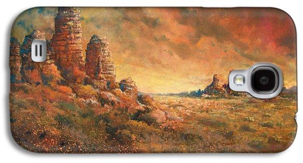 Desert Sunset Galaxy S4 Case - Arizona Sunset by Andrew King