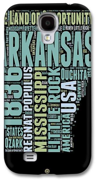 Arkansas Word Cloud 1 Galaxy S4 Case