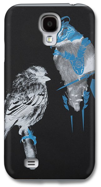 Armoured Birds Galaxy S4 Case by Jessica Jackson