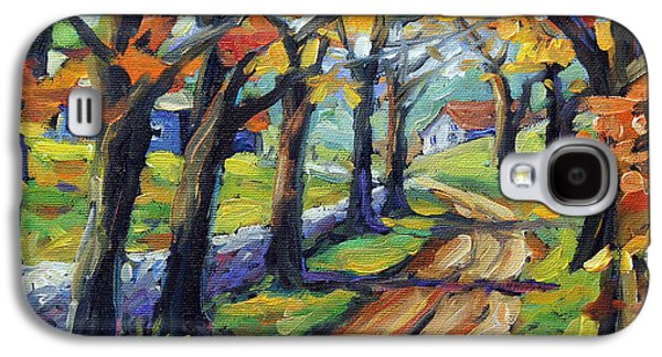 Around The Bend By Prankearts Galaxy S4 Case by Richard T Pranke