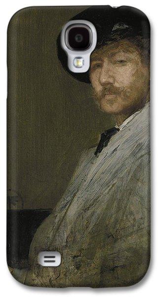 Arrangement In Gray Portrait Of The Painter Galaxy S4 Case