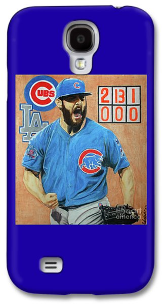 Arrieta No Hitter - Vol. 1 Galaxy S4 Case