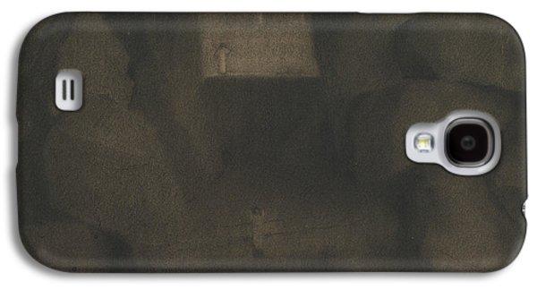 Arrival In A Dark Landscape Galaxy S4 Case by Herbert Crowley