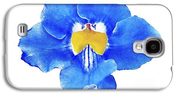 Art Blue Beauty Galaxy S4 Case