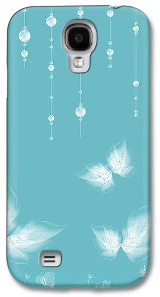 Art En Blanc - S11a Galaxy S4 Case by Variance Collections