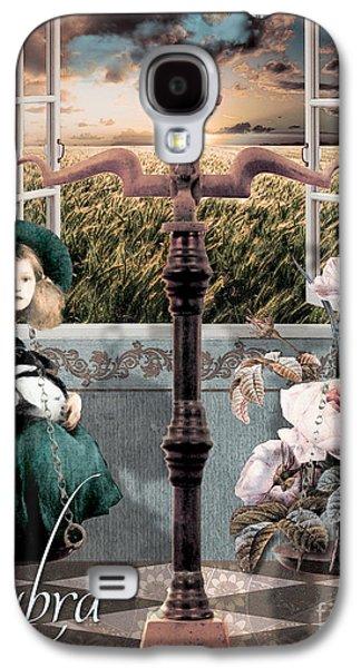 Art Nouveau Zodiac Libra Galaxy S4 Case by Mindy Sommers