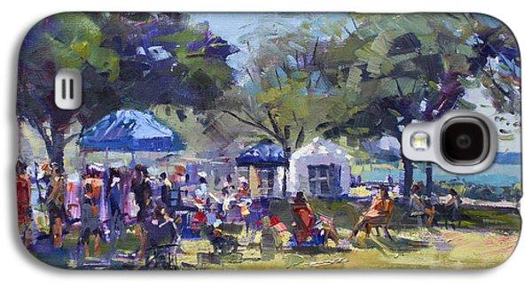 Art On The Riverwalk At Niawanda Park Galaxy S4 Case