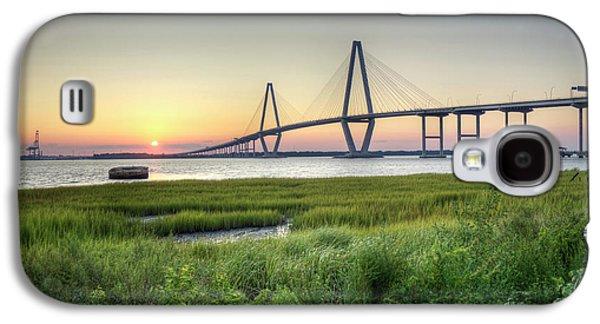 Arthur Ravenel Bridge Sunset Galaxy S4 Case