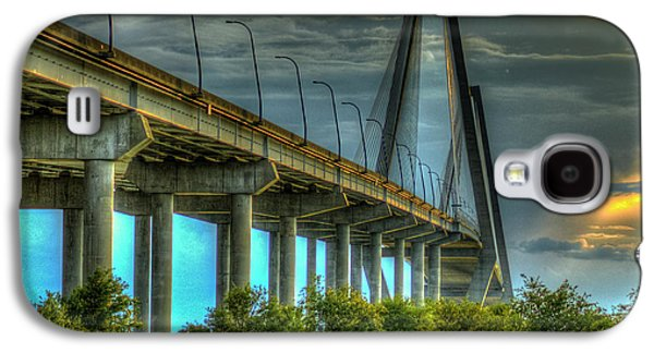 Arthur Ravenel Jr Bridge Charleston South Carolina Art Galaxy S4 Case
