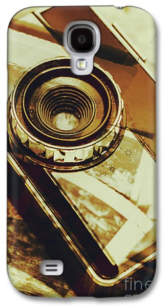 Artistic Double Exposure Of A Vintage Photo Tour Galaxy S4 Case by Jorgo Photography - Wall Art Gallery