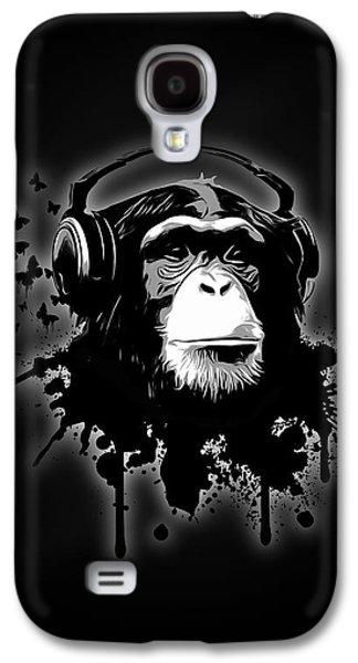 Monkey Business - Black Galaxy S4 Case