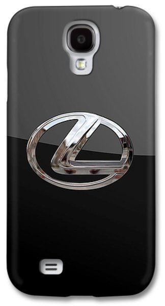 Lexus - 3d Badge On Black Galaxy S4 Case by Serge Averbukh