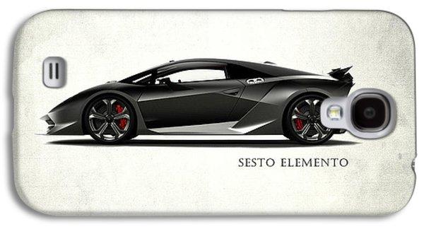 Lamborghini Sesto Elemento Galaxy S4 Case by Mark Rogan