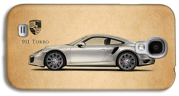 Classic Cars Photographs Galaxy S4 Cases - Porsche 911 Turbo Galaxy S4 Case by Mark Rogan