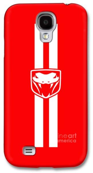 Viper Galaxy S4 Case - Dodge Viper Red Phone Case by Mark Rogan