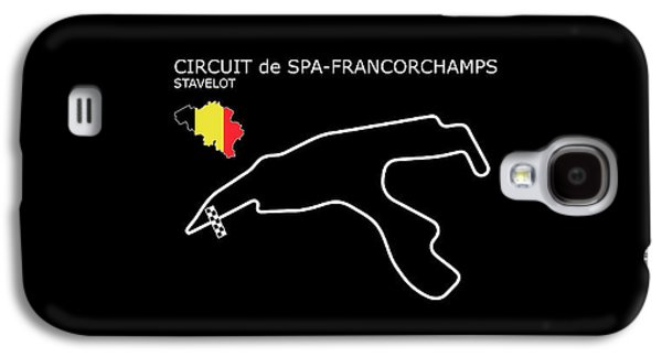 Spa Francorchamps Galaxy S4 Case by Mark Rogan