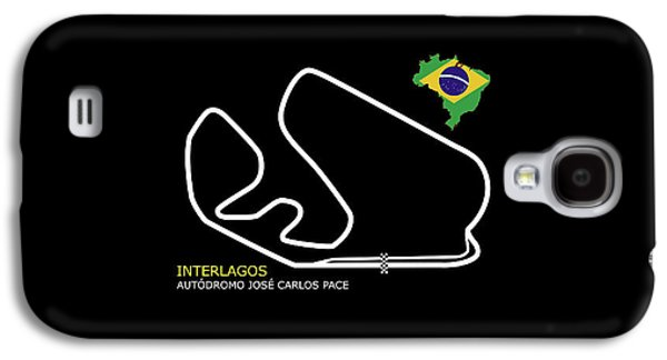 Interlagos Brazil Galaxy S4 Case by Mark Rogan