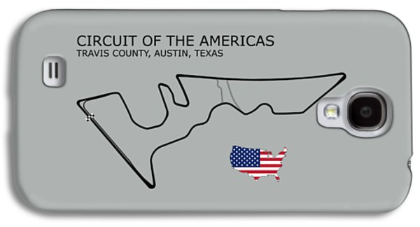 Circuit Of The Americas Galaxy S4 Case by Mark Rogan