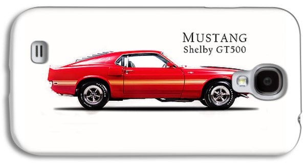 Ford Mustang Shelby Gt500 1969 Galaxy S4 Case by Mark Rogan