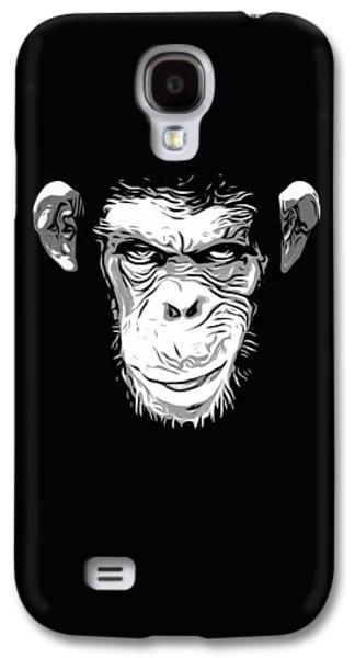 Evil Monkey Galaxy S4 Case by Nicklas Gustafsson