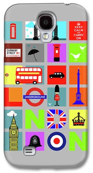 London Galaxy S4 Case