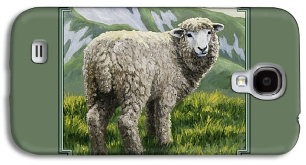 Highland Ewe Galaxy S4 Case