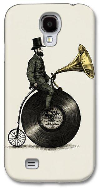 Music Man Galaxy S4 Case by Eric Fan