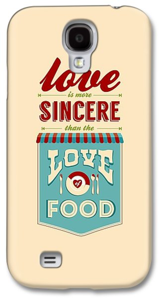 Typography Art Quotes Poster Galaxy S4 Case by Lab No 4 - The Quotography Department