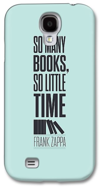 Frank Zappa Quote Typography Print Quotes Poster Galaxy S4 Case