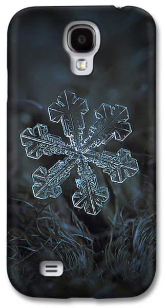 Snowflake Photo - Vega Galaxy S4 Case