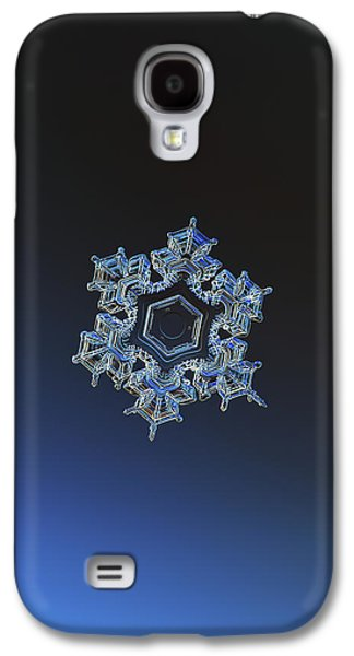 Snowflake Photo - Spark Galaxy S4 Case