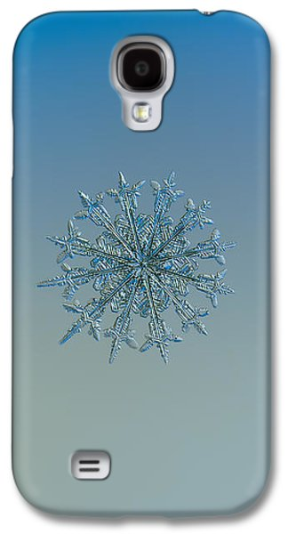 Snowflake Photo - Twelve Months Galaxy S4 Case