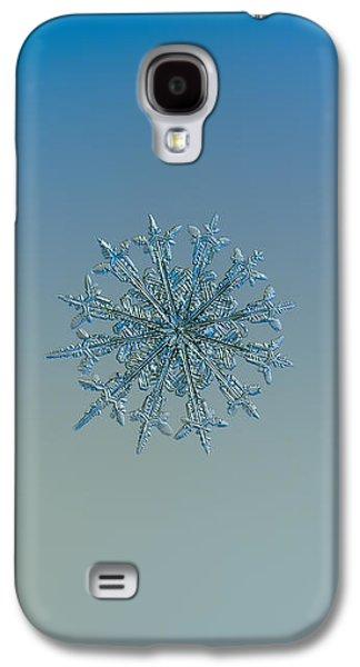 Snowflake Photo - Twelve Months Galaxy S4 Case