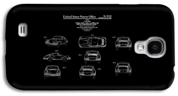 Porsche 911 Patent Galaxy S4 Case by Mark Rogan