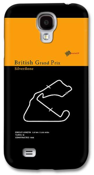 Moto Gp Great Britain Galaxy S4 Case by Mark Rogan