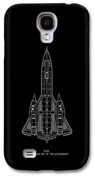 The Lockheed Sr-71 Blackbird Galaxy S4 Case