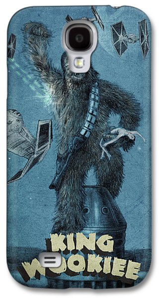 King Wookiee Galaxy S4 Case by Eric Fan