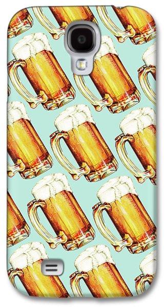 Beer Pattern Galaxy S4 Case by Kelly Gilleran