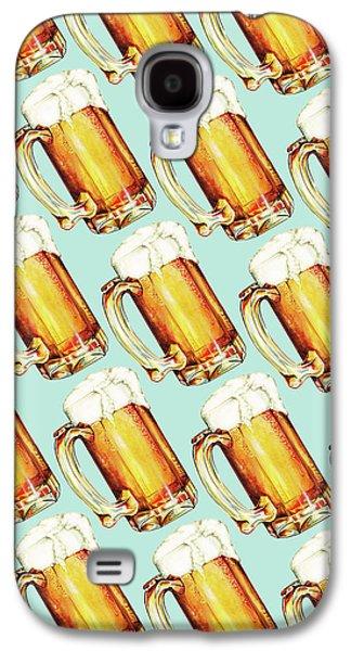 Beer Pattern Galaxy S4 Case