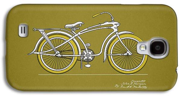 Bicycle 1937 Galaxy S4 Case by Mark Rogan