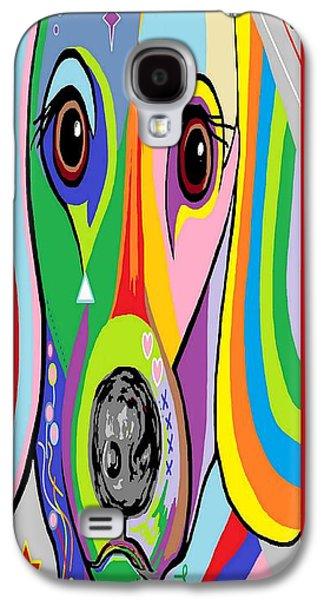 Dachshund Galaxy S4 Case by Eloise Schneider