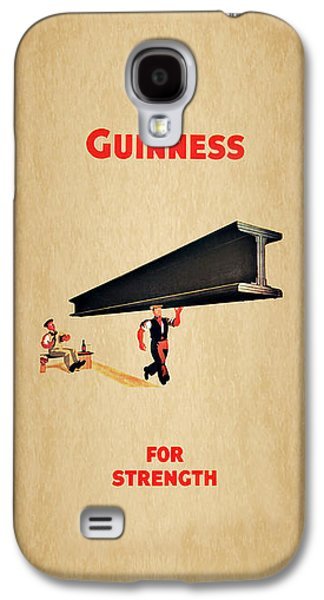 Beer Galaxy S4 Case - Guiness For Strength by Mark Rogan