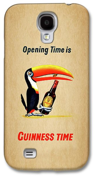 Opening Time Is Guinness Time Galaxy S4 Case