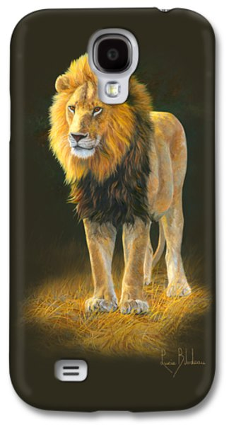 Lion Galaxy S4 Case - In His Prime by Lucie Bilodeau