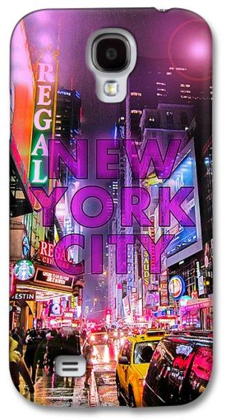 New York City - Color Galaxy S4 Case by Nicklas Gustafsson