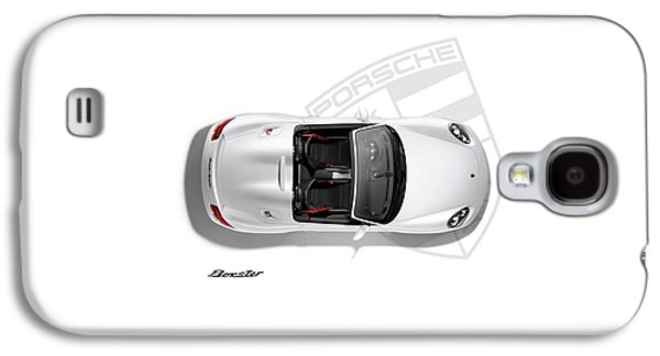 Porsche Boxster Galaxy S4 Case by Mark Rogan
