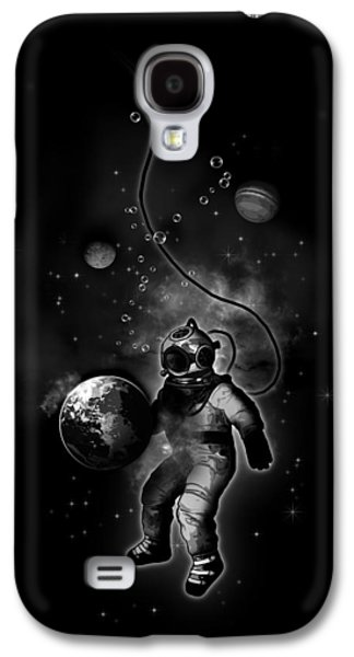 Deep Sea Space Diver Galaxy S4 Case by Nicklas Gustafsson