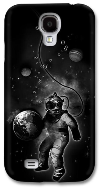 Deep Sea Space Diver Galaxy S4 Case